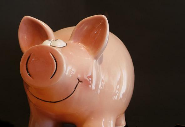 pig bank piggy pink