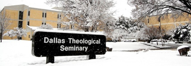 dallas theology seminary campus snowstorm dallas tx