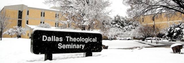 dallas theology seminary campus snowstorm dallas tx