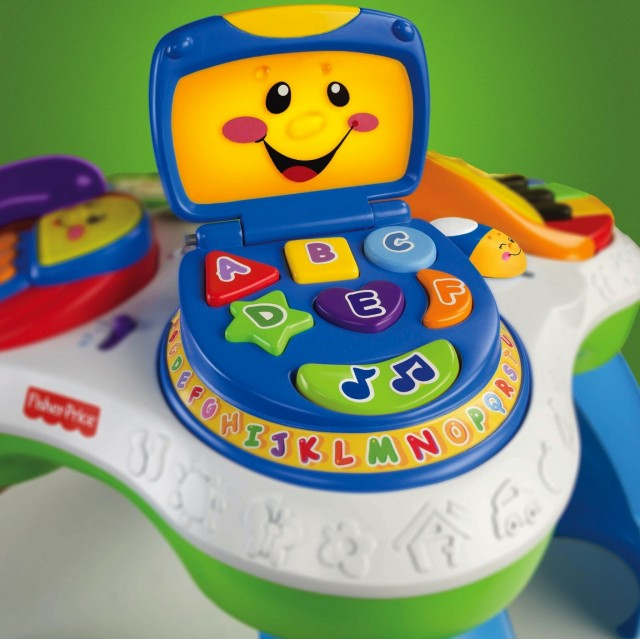 developmental toy laugh learn fun with friends musical table
