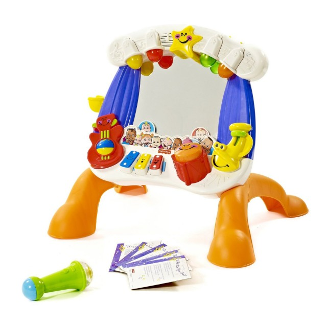 down syndrome gift idea sing along stage fisher price