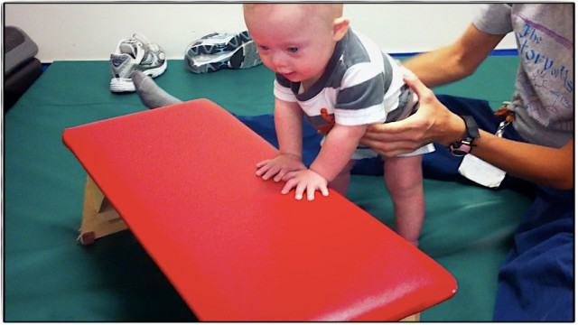 down syndrome baby exercises physical therapy