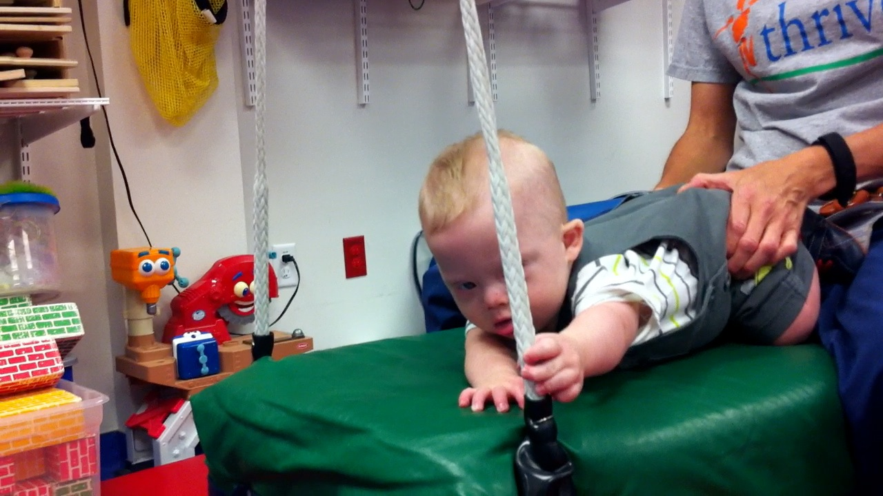Noah Hits The Physical Therapy Trifecta Today
