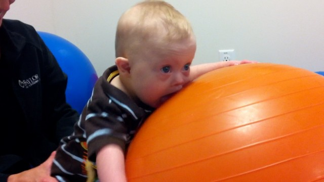 child physical therapy child down syndrome