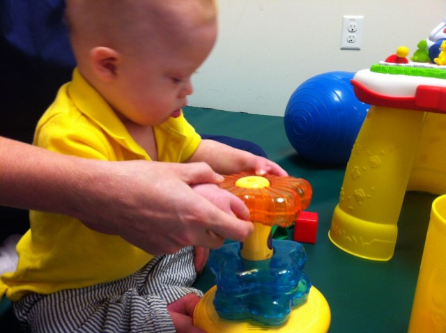 occupational therapy down syndrome child