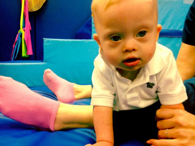 down syndrome occupational therapy babies kids children