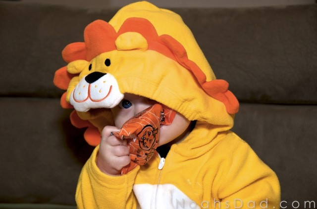 infant first halloween