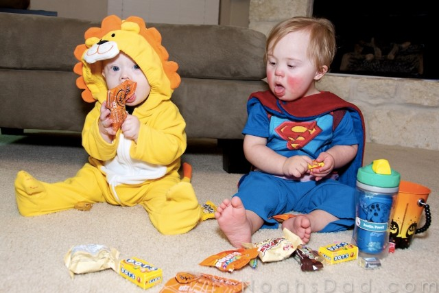 friends with down syndrome superman lion cute babies