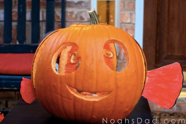 finding nemo jack o lantern halloween ideas