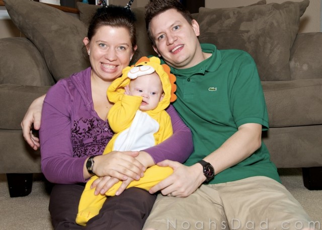 cute family kid down syndrome baby picture