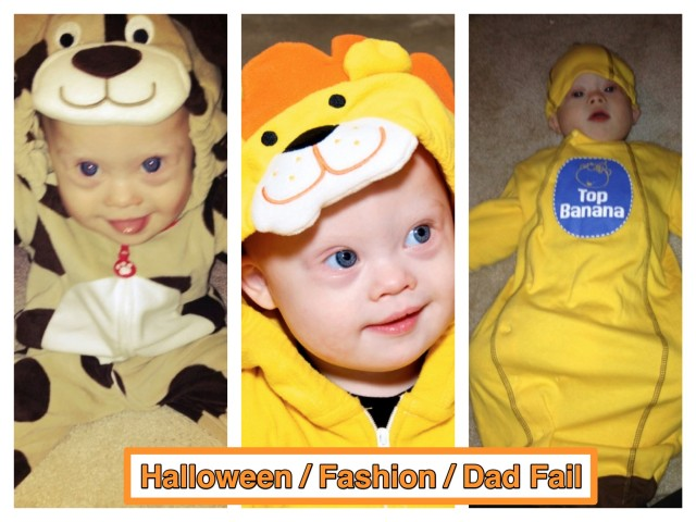 halloween fail child baby costume