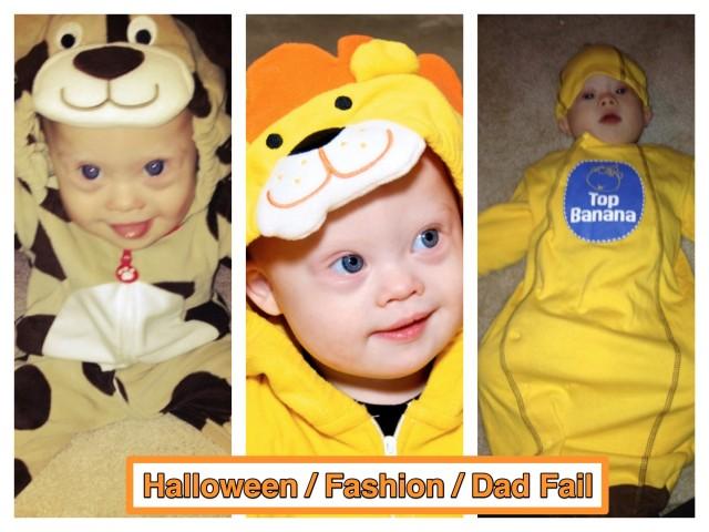 halloween fail child baby costume