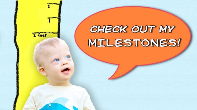 down syndrome milestones child baby