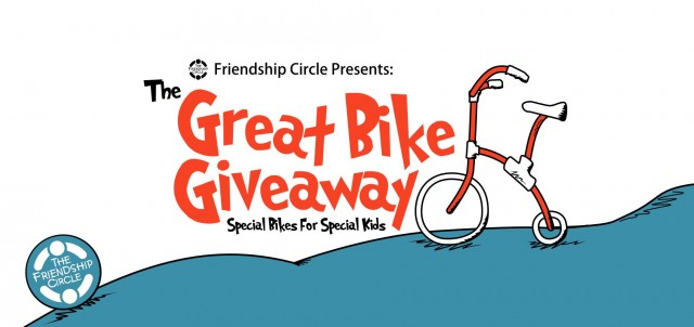 Win 1 of 14 Adaptive Bicycles in Friendship Circle's: The Great Bike Giveaway