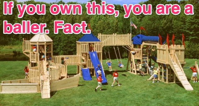 most expensive biggest swing set