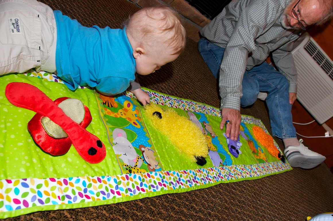 crawl-mat-development-down-syndrome-child