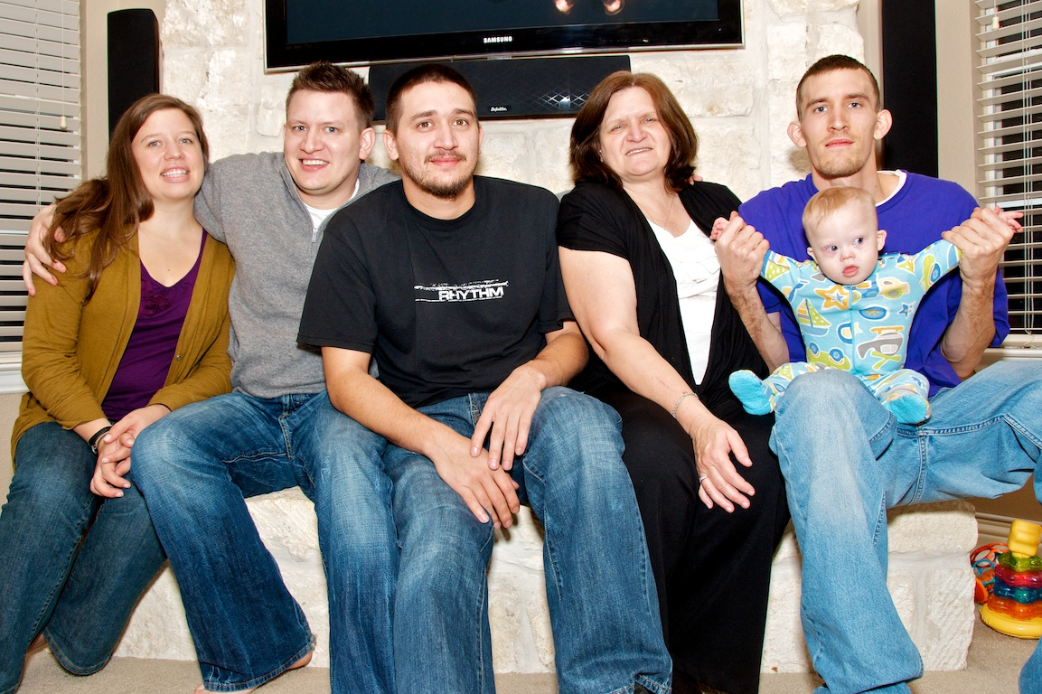 first thanksgiving family child down syndrome special needs