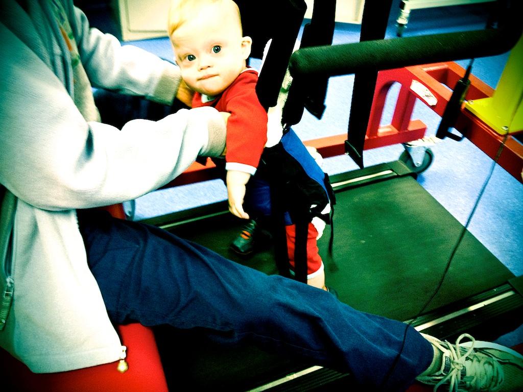 treadmill training down syndrome