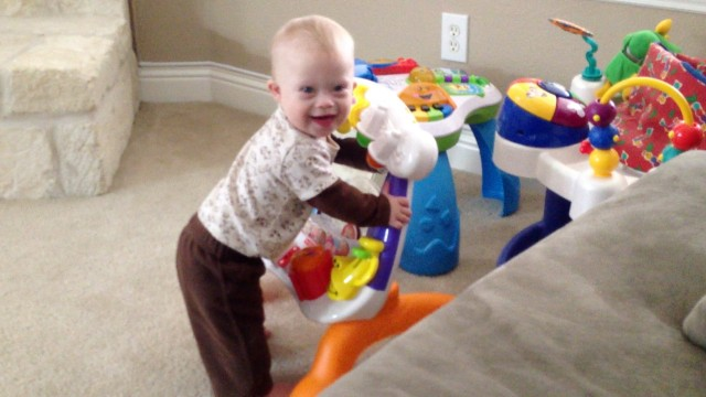 Noah Pulls To Stand (And 2 Tips To Help Your Child Stand Up On Their Own!)