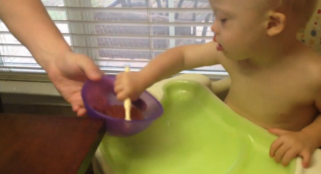 how nuk brush helps learning to eat
