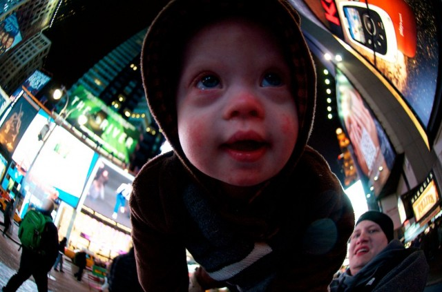 Noah Meets A Model With Down Syndrome, And Goes On A Tour Of 30 Rock: NYC Day 3