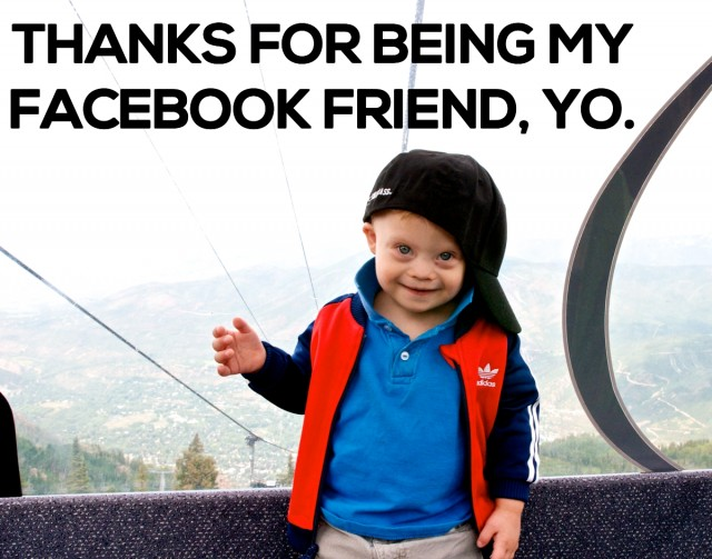 7 Epically Awesome Statistics About How Noah's Facebook Page Is Changing The World!