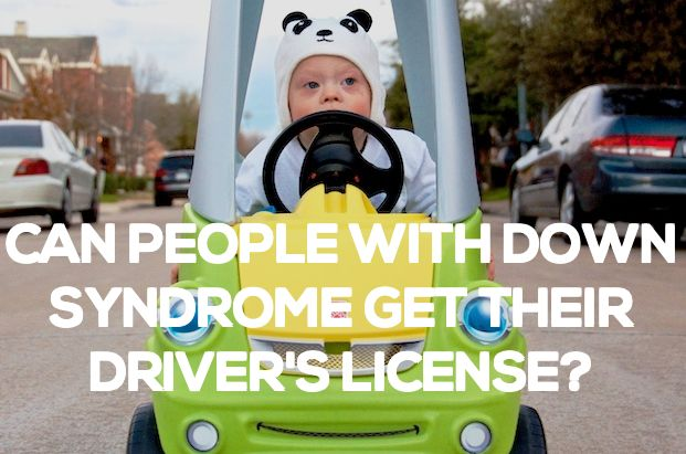 down syndrome drivers license