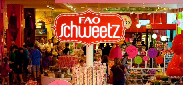 fao schwarz candy section new york 5th ave