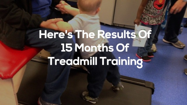 result of treadmill walking therapy kids children