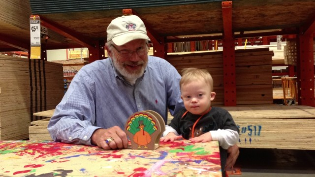 kids workshop home depot special needs down syndrome