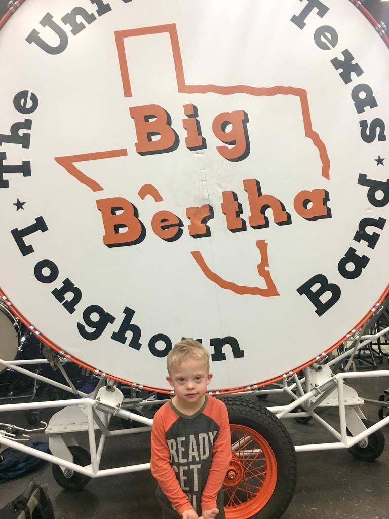 longhorn band university texas big bertha