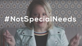 not special needs video girl from glee