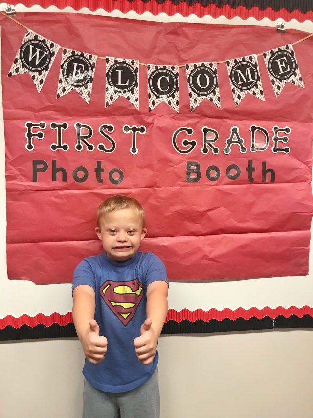 A Letter to Noah's First Grade Teacher On His First Day of School