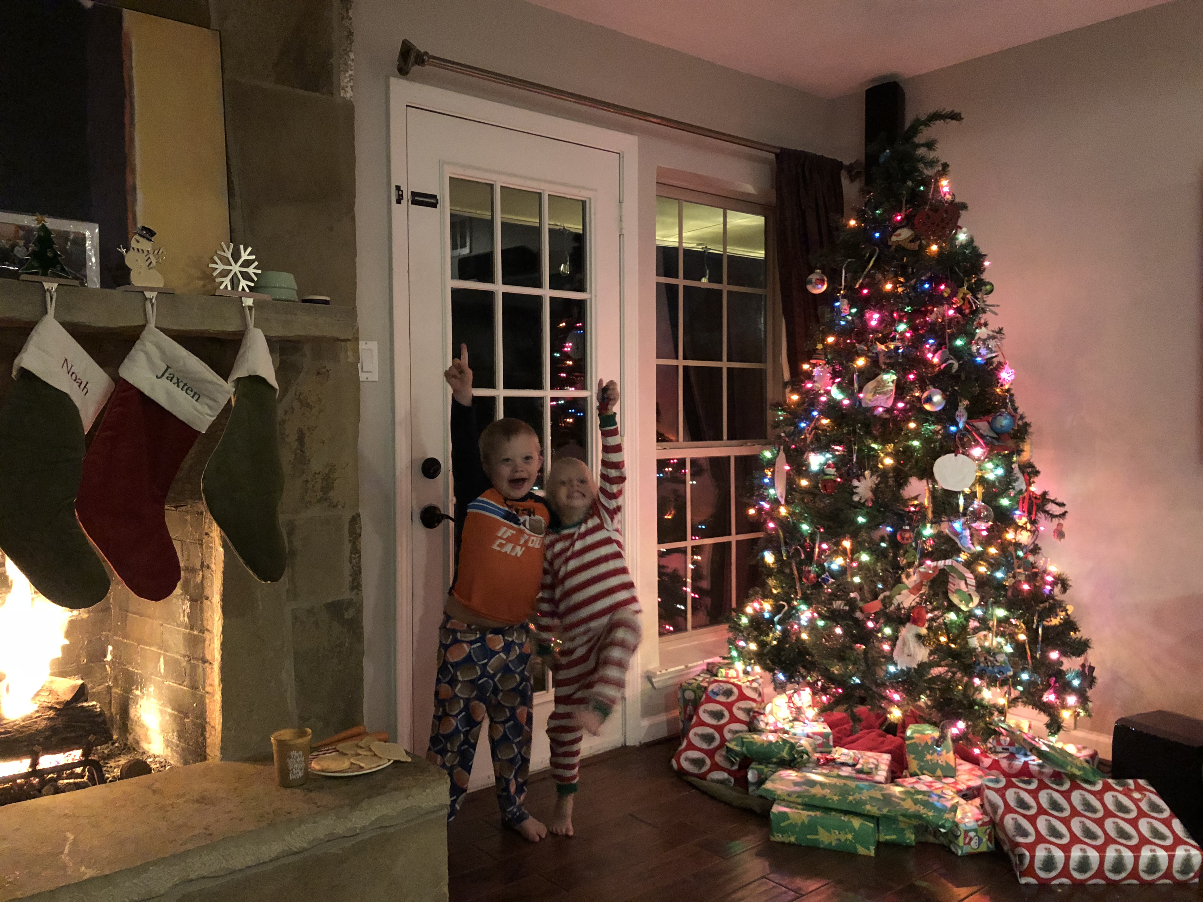 What happen christmas eve before hubby came home 6