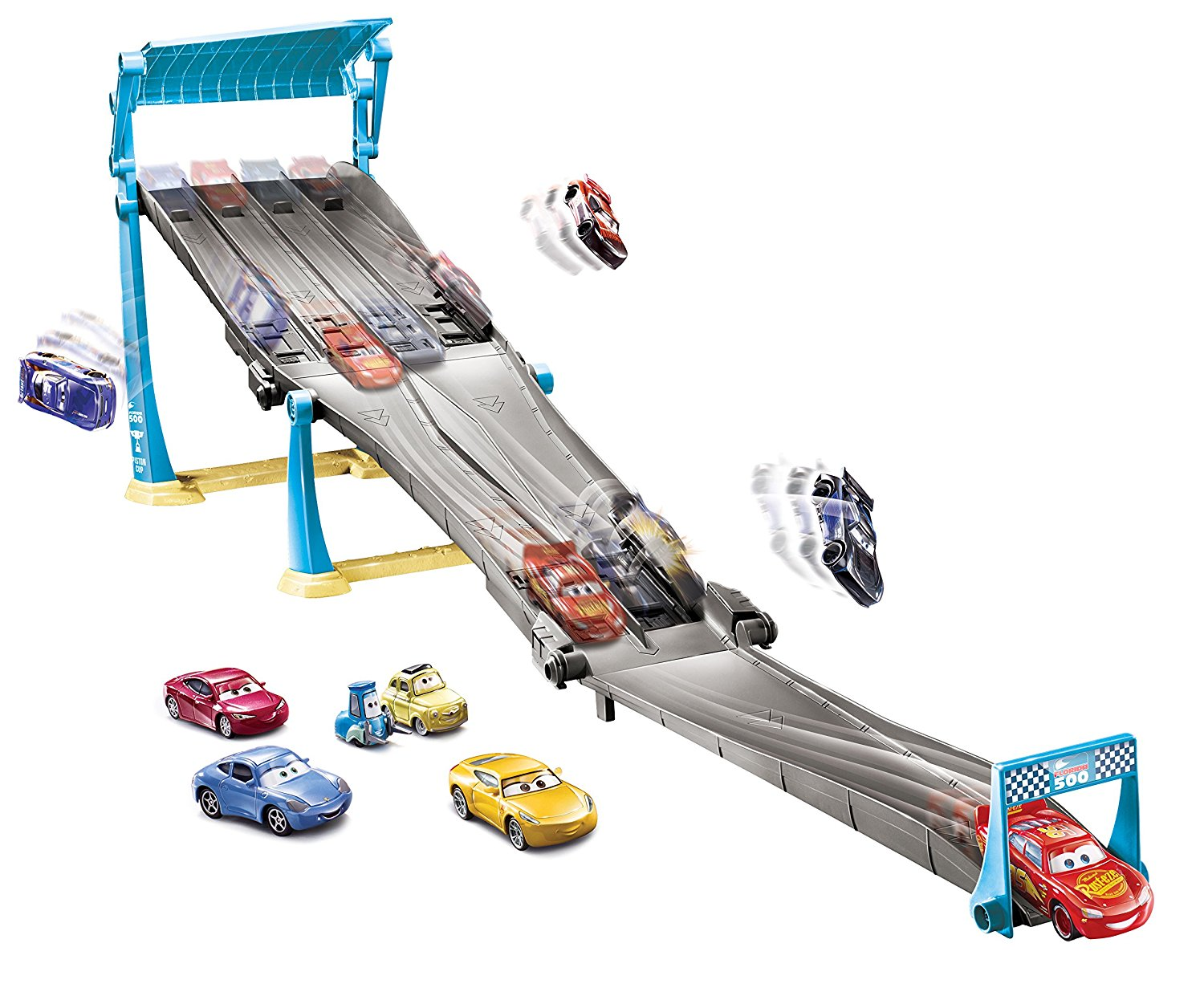 disney pixar cars race set