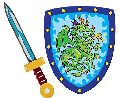 foam sword and shield toys