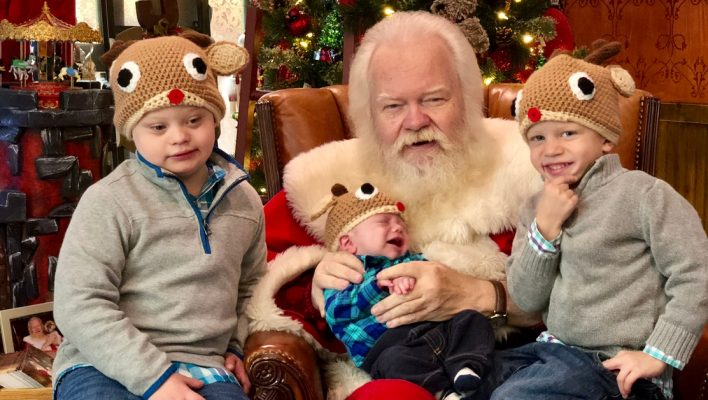 northpark mall santa claus special needs child down syndrome