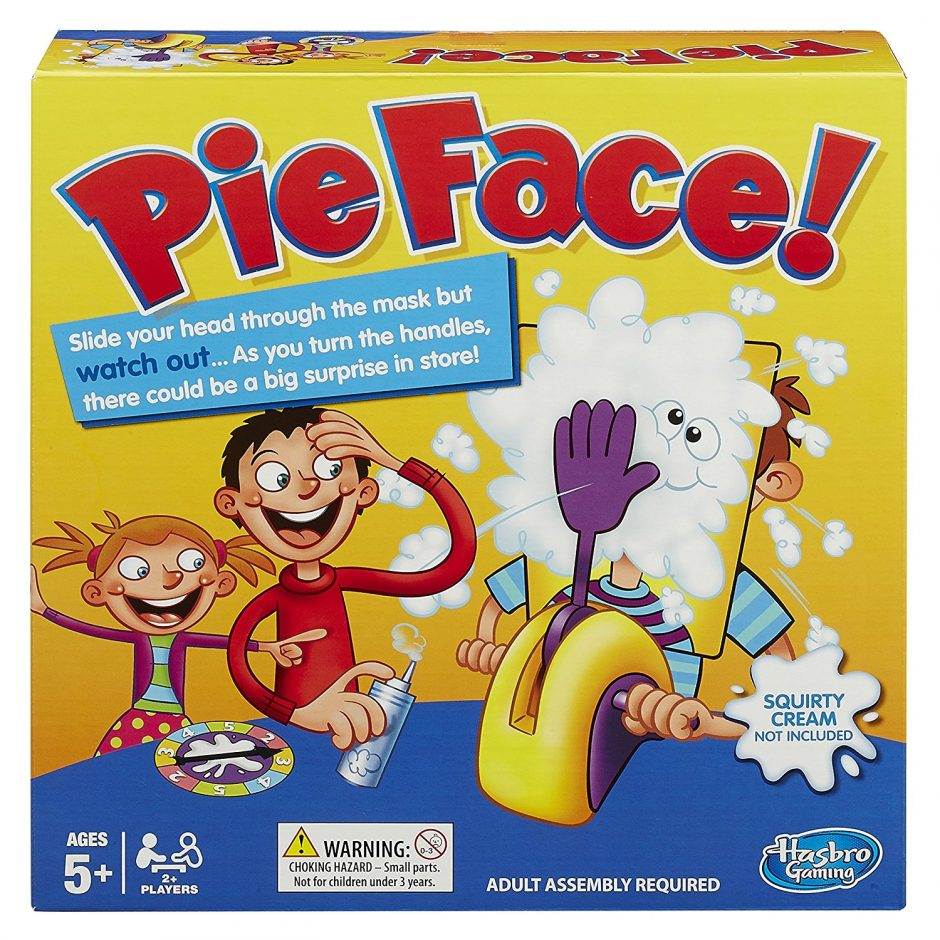 pie face for child with down syndrome