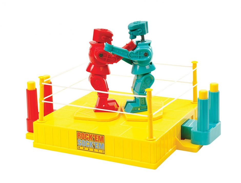 rock em sock em robots kid game