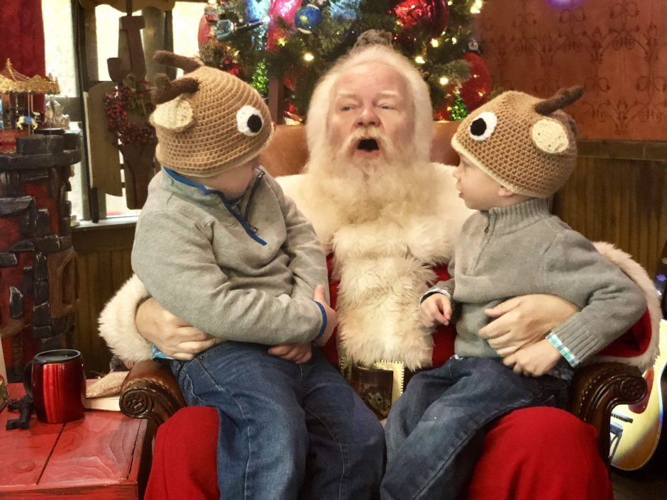 special needs down syndrome wait time santa claus northpark