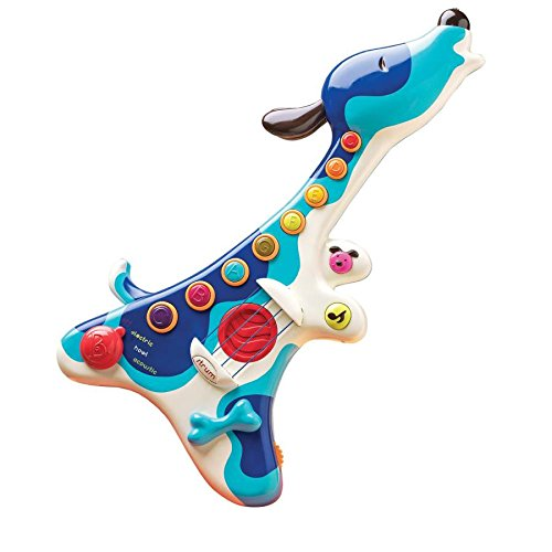 toy guitar with lights and sounds for kids