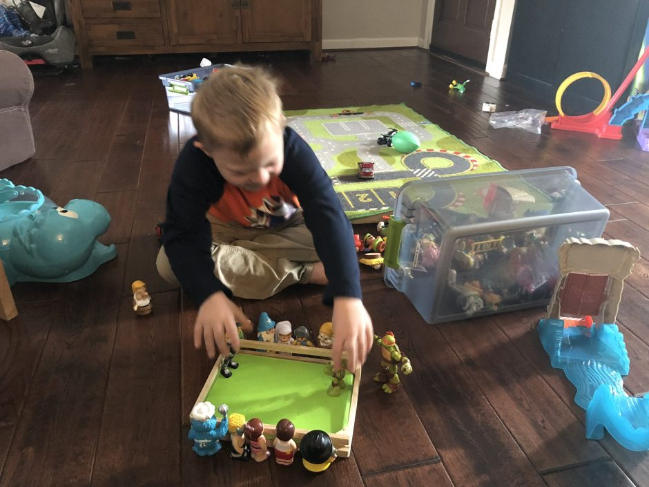 imaginative play developing child with down syndrome
