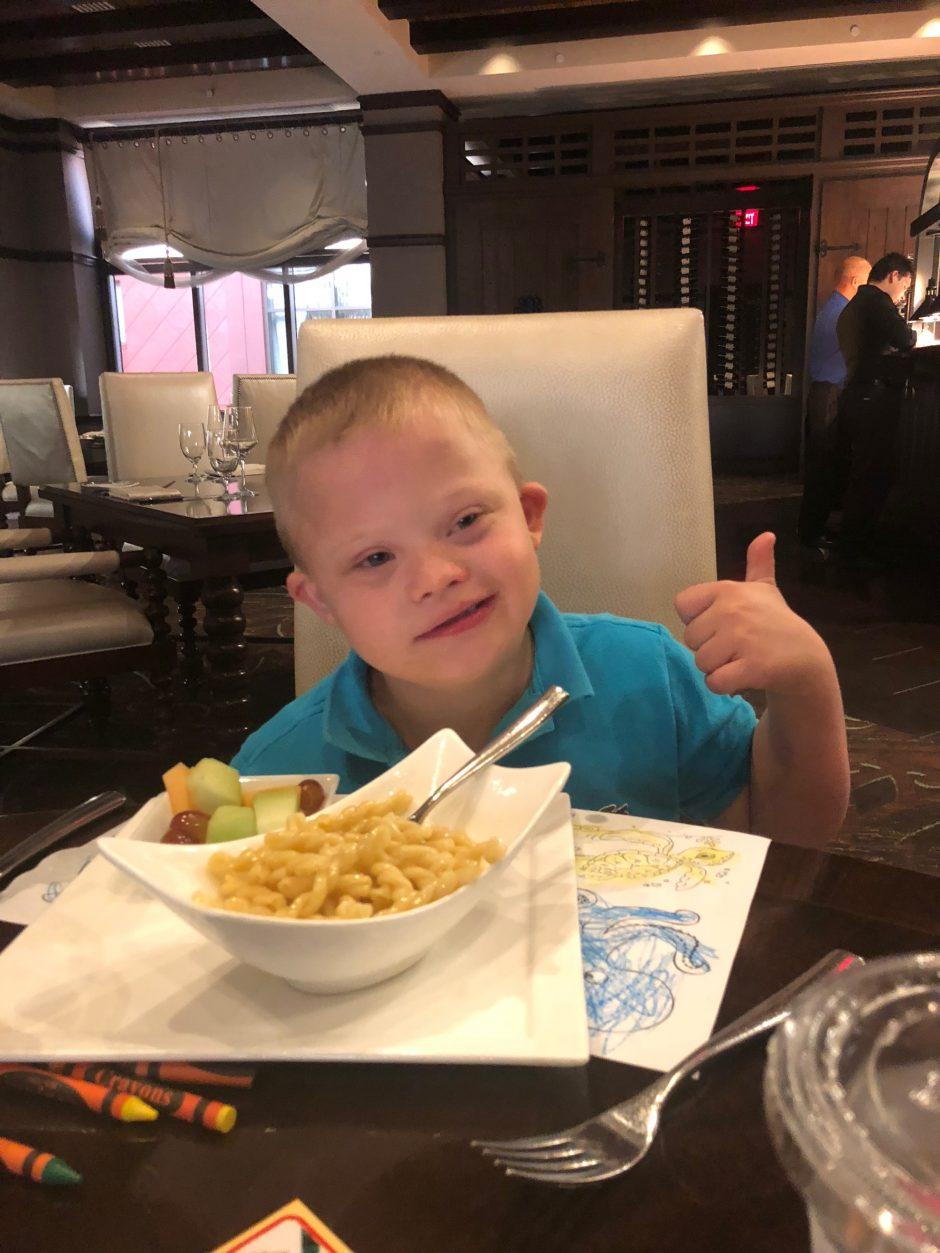 deep blue seafood grille orlando kid