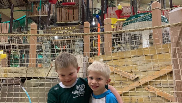 great wolf lodge child with down syndrome indoor waterpark