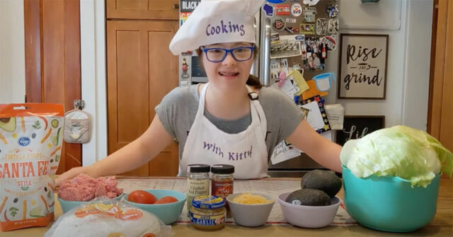 chef with down syndrome YouTube channel